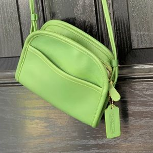 COACH Vintage 1997 'Abbie' Leather Green Bag